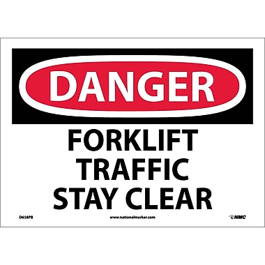 Danger, Forklift Traffic Stay Clear, 10