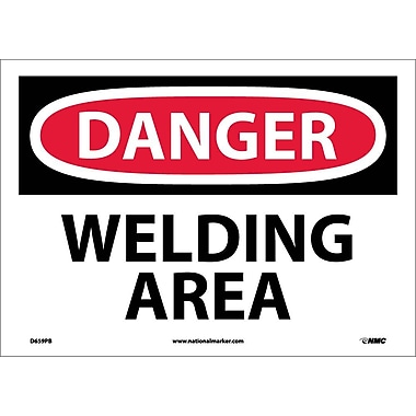 Danger, Welding Area, 10