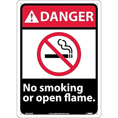 Danger, No Smoking Or Open Flame, 14