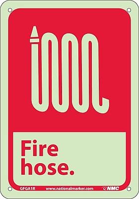 Fire, Fire Hose, 10X7, Rigid Plasticglow