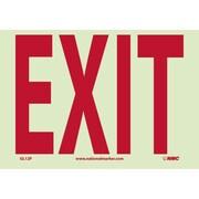 Exit, 7X10, Adhesive Glow