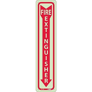 Fire Extinguisher, 18X4, Glow Rigid