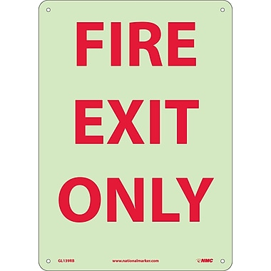 Fire, Fire Exit Only, 14