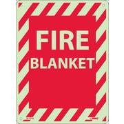 "Fire, Fire Blanket, 12"" x 9"", Rigid Plasticglow"