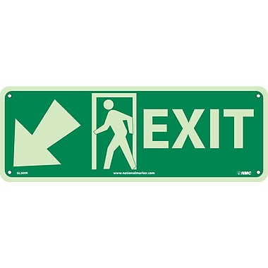 Exit with Door And Left Down Arrow, 5