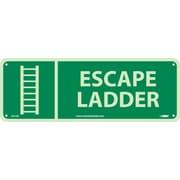 """Escape Ladder, 5"""" x 14"""", Glow Rigid"""