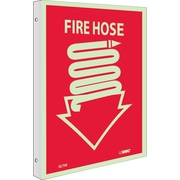 Fire, Fire Hose, 10X8, Plastic Flangedglow