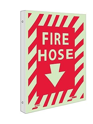 Fire, Fire Hose, 12X9, Plastic Flangedglow