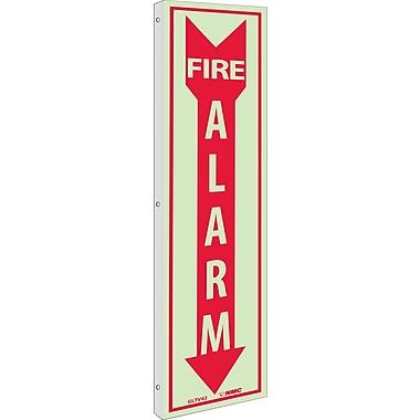 Fire, Fire Alarm, 18X4, Plastic Flangedglow