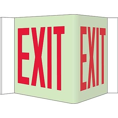 Visi Sign, Exit, Glow, 8
