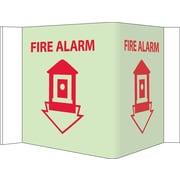 Fire, Visi, Fire Alarm, 5.75X 8.75, Acrylicglow