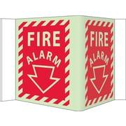 Fire, Visi, Fire Alarm, 5.75X8.75, Acrylicglow