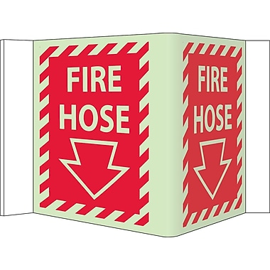 Fire, Visi, Fire Hose, 5.75X8.75, Acrylicglow