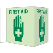 "Visi, First Aid, 5.75"" x 8.75"", Acrylicglow"