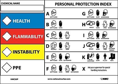 Rtk Protective Equipment Label, 5X7, Adhesive Vinyl