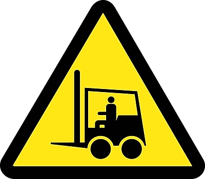 Label, Graphic For Life Truck Hazard, 2In Dia, Adhesive Vinyl