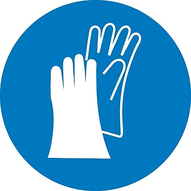 Label, Graphic for Wear Hand Protection, 4