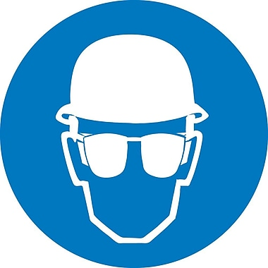 Label, Graphic for Wear Head And Eye Protection, 4
