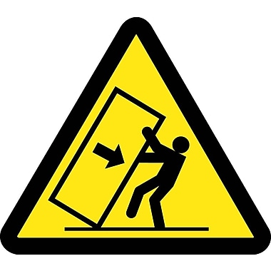 Label, Graphic for Tipping Hazard, 4