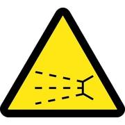 Label, Graphic For Splash Hazard, 4In Dia, Adhesive Vinyl