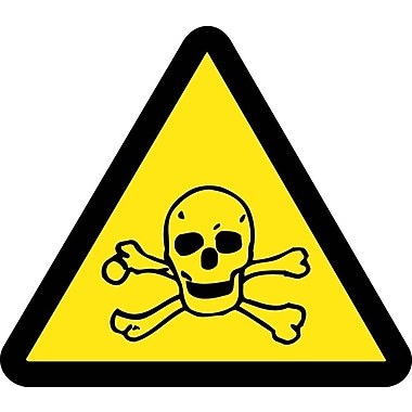 Label, Graphic for Toxic Hazard, 4