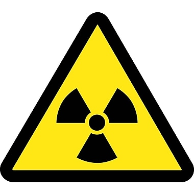 Label, Graphic for Radioactive Material Hazard, 4