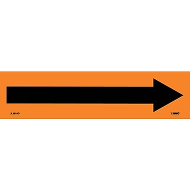 Electrical Markers, Arrow, Graphic, 2.25X9, Adhesive Vinyl, 25/Pk