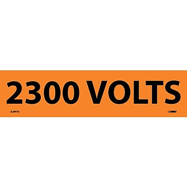 Electrical Markers, 2300 Volts, 2.25