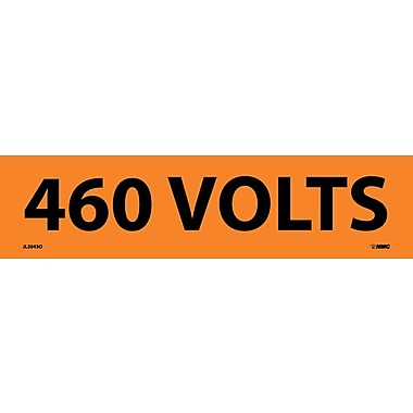 Electrical Markers, 460 Volts, 2.25
