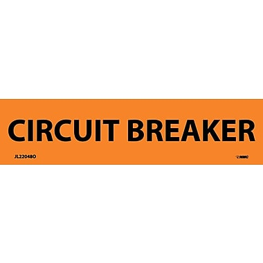 Electrical Markers, Circuit Breaker, 1.125