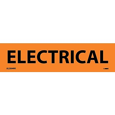Electrical Markers, Electrical, 1.125