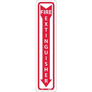 Fire Extinguisher, 18X4, .040 Aluminum