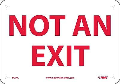 Not An Exit, .040 Aluminum