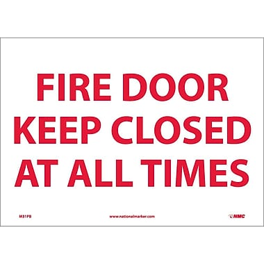 Fire Door Keep Closed At All Times, 10