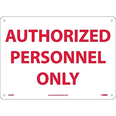 Authorized Personnel Only, 10