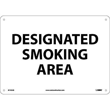 Designated Smoking Area, 10