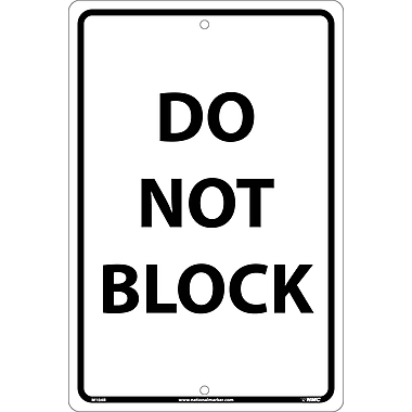 Do Not Block, Black On White, 18