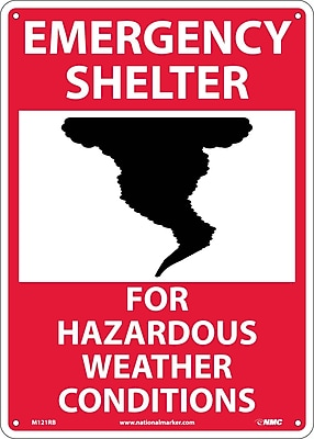 Emergency Shelter For Hazardous Weather Conditions, Graphic,