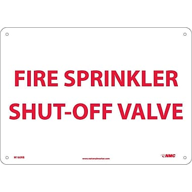 Fire, Sprinkler Shut Off Valve, 10