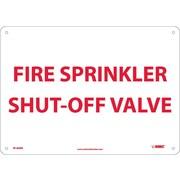 Fire, Sprinkler Shut Off Valve, 10X14, Rigid Plastic