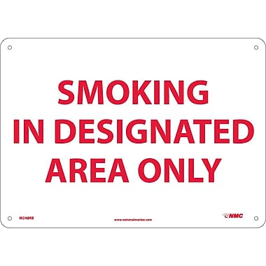 Smoking In Designated Area Only, 10