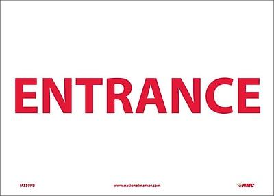 Entrance, 10X14, Adhesive Vinyl