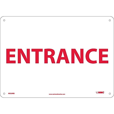 Entrance, 10X14, Rigid Plastic