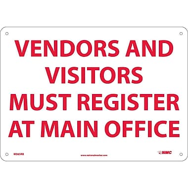 Vendors & Visitors Must Register At Main.., 10