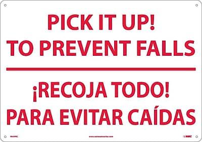 Pick It Ip! To Prevent Falls Recoja Todo (Bilingual), 14X20, Rigid Plastic