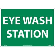 "Eye Wash Station, 10"" x 14"", Rigid Plastic"