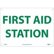 "First Aid Station, 10"" x 14"", Rigid Plastic"