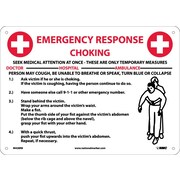 Choke Emergency Response, 10X14, Rigid Plastic