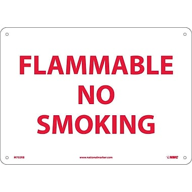 Flammable No Smoking, 10