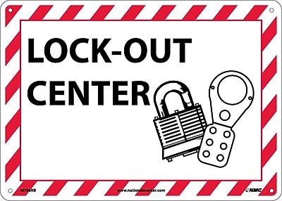 Lock-Out (W/Graphic), 10X14, Rigid Plastic